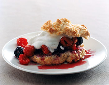 Two-Berry Shortcakes