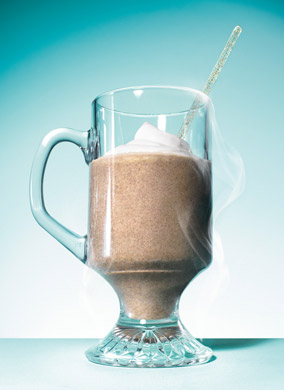 Kahlúa-Spiked Frozen Mocha Lattes