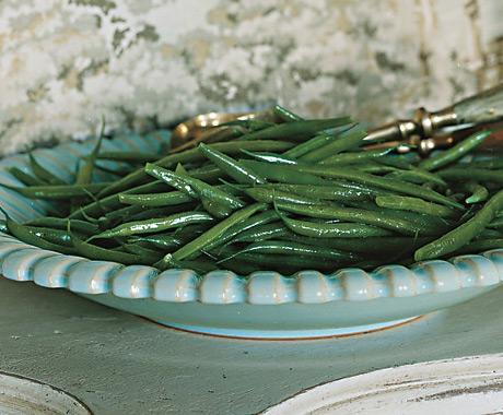Green Beans with Celery-Salt Butter