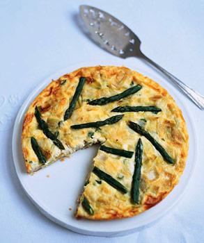 Asparagus Custard Tart