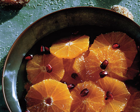 Clementines in Ginger Syrup