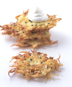 Potato Parsnip Latkes