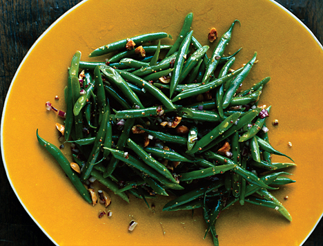 Green Bean and Hazelnut Salad