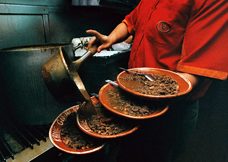Shredded Beef in Guajillo Sauce (Carne Deshebrada en Salsa Roja )