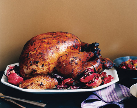 Adobo Turkey with Red-Chile Gravy