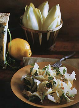 Endive, Stilton, and Bacon Salad