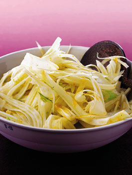 Fennel and Endive Salad with Orange Vinaigrette