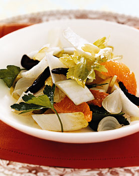 Clementine, Olive, and Endive Salad