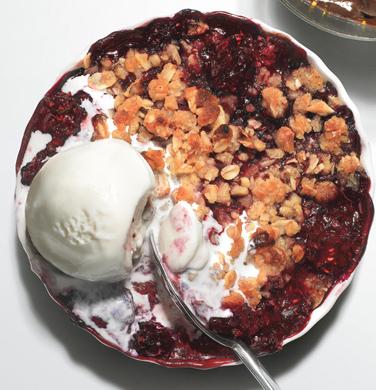Mixed-Berry Oatmeal Crisps