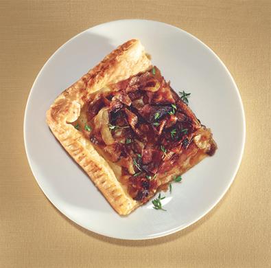 Honey-Roasted Onion Tart