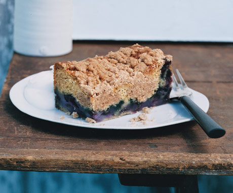 Blueberry Streusel Cake