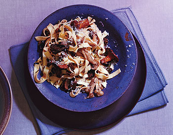 Wild-Mushroom Pasta