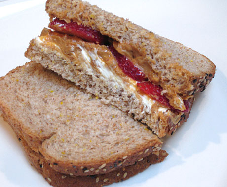 Peanut Butter Berry–wich