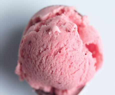 Perfect No-Cook Strawberry Ice Cream