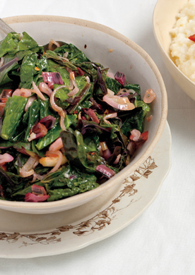 Late-Summer-Greens Sauté
