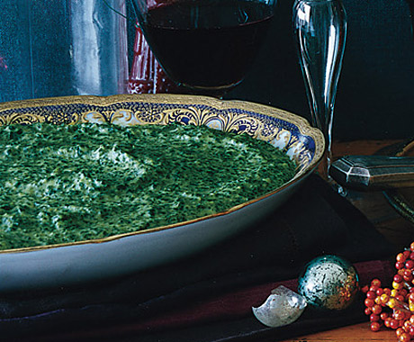 Kale and Potato Purée