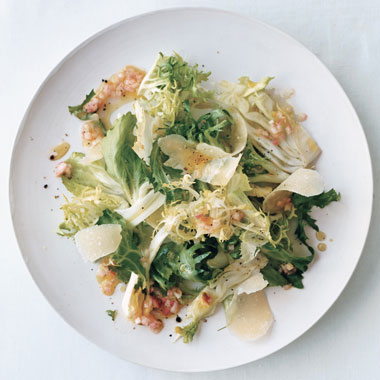 Fennel, Frisée, and Escarole Salad
