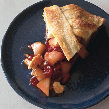 Rustic Pear-Cranberry Tart