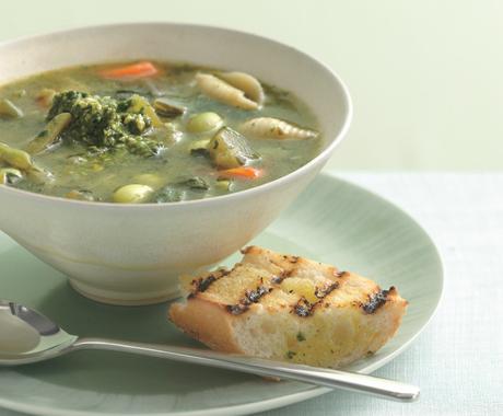 Provençal Vegetable Soup (Soupe au Pistou)