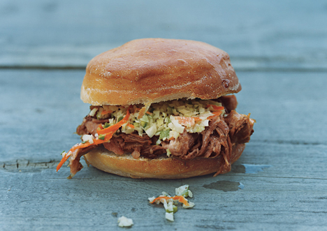 North Carolina Pulled-Pork Barbecue