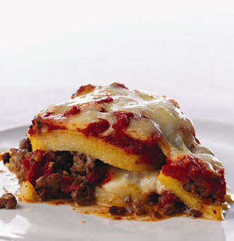 "Lamb and Polenta ""Lasagne"""