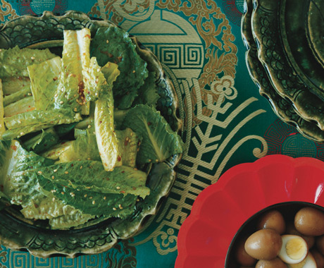 Korean-Style Romaine