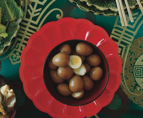 Sesame Quail Eggs