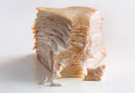 Grand Marnier Crêpe Cake