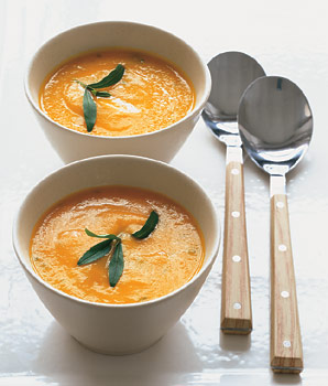Carrot Soup with Orange and Tarragon