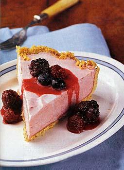 Raspberry Semifreddo Torte