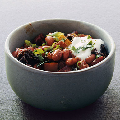 Pinto-Bean Mole Chili