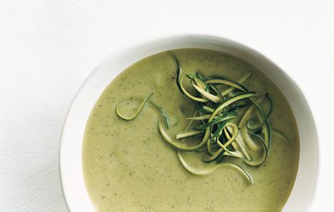 Zucchini-Basil Soup