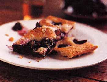 Focaccia with Grapes (Schiacciata con L'uva)