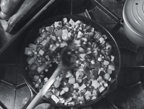 Iron-Skillet Succotash