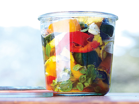 Marinated Summer Vegetables