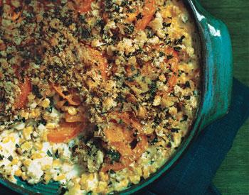 Corn and Tomato Gratin