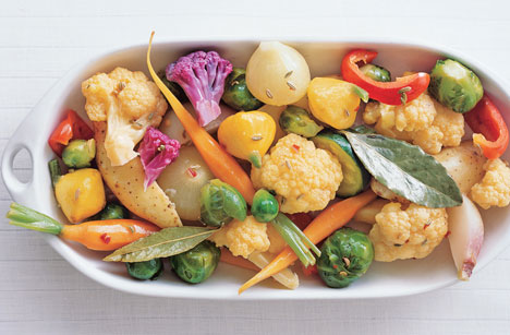 Marinated Baby Vegetables