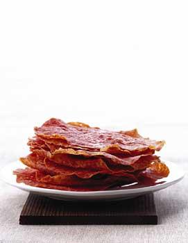Salami Crisps