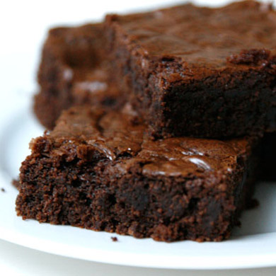 Fudgy Coffee Brownies