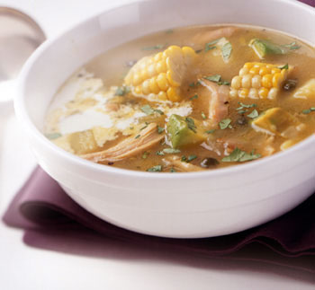 Colombian Chicken, Corn, and Potato Stew