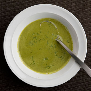 Creamy Fennel and Greens Soup