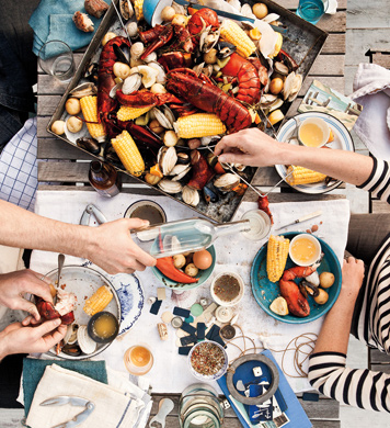 One Pot Clam Bake