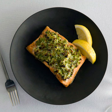 Scallion Crusted Artic Char