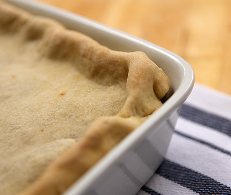 Dried Cod Fish Pie