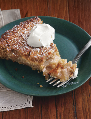 Apple Torte with Breadcrumb-Hazelnut