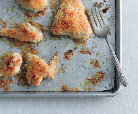 Oven-Fried Panko Chicken