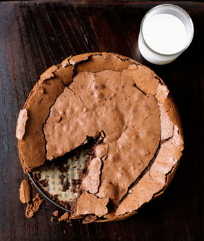 Chocolate Fallen Soufflé Cake