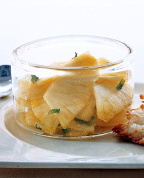 Mint Julep Pineapple