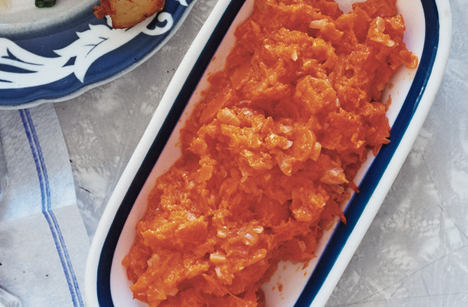 Smashed Carrots