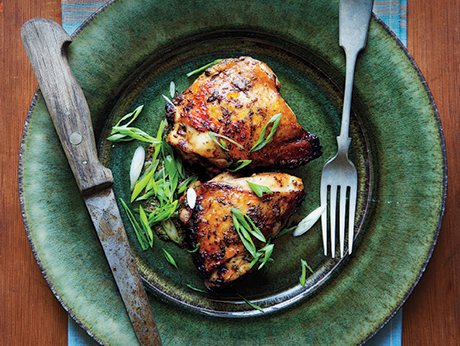 Citrus-Marinated Chicken Thighs